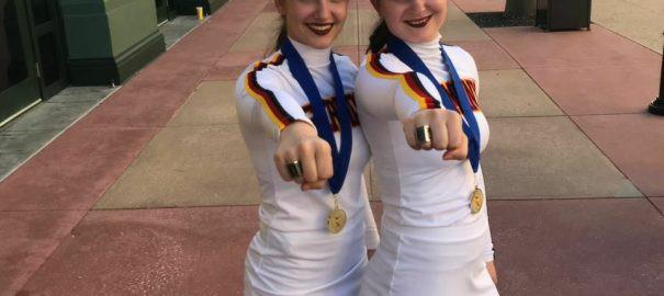 Arrows-Cheerleader sind Weltmeister