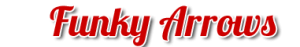 Funky ARROWS Schriftzuf